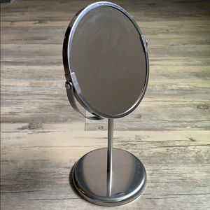 Double Sided Countertop Vanity Mirror
